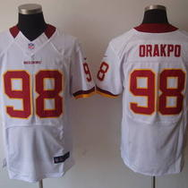 Brian Orakpo Nfl Home/road Washington Redskins Nfl Jersey Photo