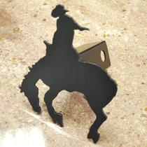 Bronco Rider-1 Trailer Hitch Cover Photo