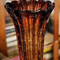 Brown Murano Vase Photo