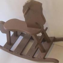 Brown Rocking Horse Photo