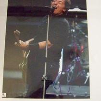 BRUCE SPRINGSTEEN SIGNED 11x14 PHOTO MATTED & FRAMED..GAI Certificate of Authenticity Photo