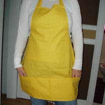 Buttercup Yellow Full Apron Photo