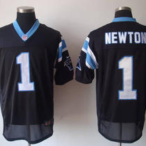 Cam Newton Nike Home Black Carolina Panthers Nfl Jersey Photo