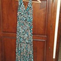 candie&amp039s Brown Blue Tan Teal Dress  Photo