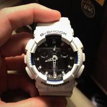 Casio G-Shock GA100 White Photo