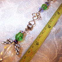 Cell Phone Purse Charm W/detachable Angel Zipper Pull Photo