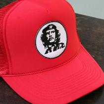 Che Trucker Hat (Vintage Style Design Stitched On) Photo