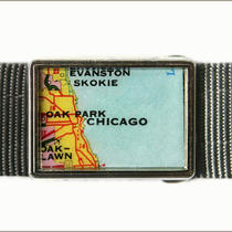 Chicago Map Buckle 2 Photo