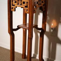 Chinese tea table / plant stand Photo