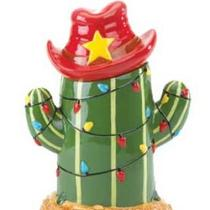 Chirstmas Cactus cookie jar Photo