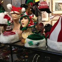 Christmas Hats Santa Elf Christmas Tree Jester and More Photo