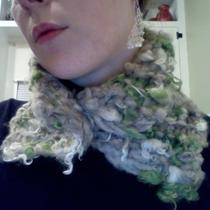 Chunky Hand-Spun Neck Warmer Photo