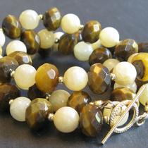 Classic Tiger Eye Necklace Photo