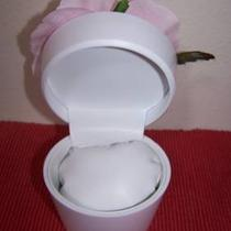 Clearance White/pink Flower Pot Watch Holder or Gift Giving Holder Photo