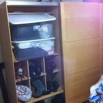 Closet, Portable, Movable, Maple Wood, Clothes  Photo
