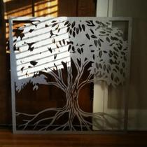 CNC Aluminum Art Photo