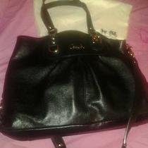 Coach Purse Authentic Black Leather Photo