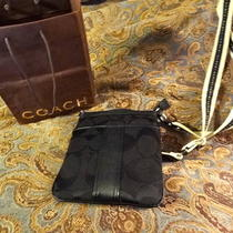 Coach Purse Black Real Photo