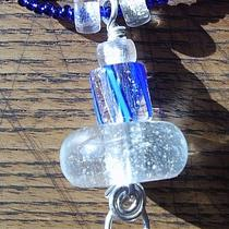 Cobalt Glass Necklace Photo