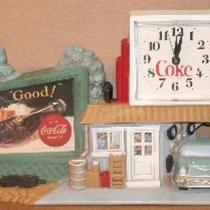 Coca Cola clock   Photo