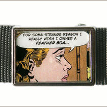 Comic Strip Buckle Photo