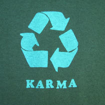 Cool Funny Karma T Shirt Photo