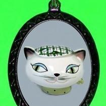 Cool Hep Cat Mod Kitty Cat Retro Diy Necklace  Fifties Design Necklace and Pendant Photo