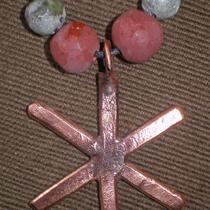 Copper Hagall/world Tree Pendant Photo