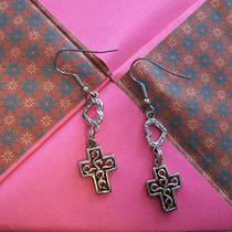Cross Earrings Photo