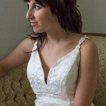 Custom Lace Wedding Dress- Perfect Condition  Photo