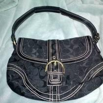 Cute Authentic Black Coach Purse Photo