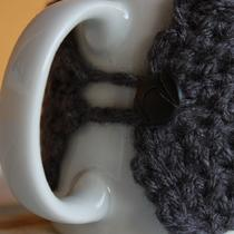 Dark Grey Coffee Sleeve/ Cup Cozy Photo