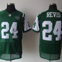 Darrelle Revis Nike Home Green New York Jets Nfl Jersey Photo