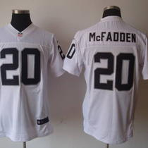 Darren Mcfadden Nike Home/road Oakland Raiders Nfl Jersey Photo