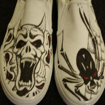 Demons/spiders Tattoo Inspired Custom Designed Shoes Photo