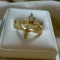Diamond Wedding Ring Set Photo