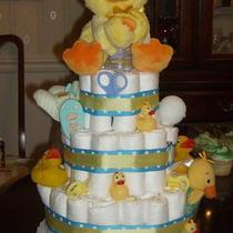 Diaper Cake 3 Tier Photo