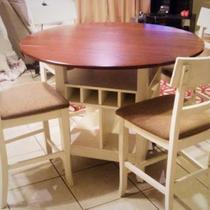 Dining Set - bistro height, bought at Rooms to Go, VERY COMFORTABLE! Photo