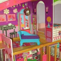 DOLL HOUSE WITH ELEVATOR AND SPIRAL STAIRCASE Photo