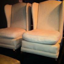 Down Filled Wing Chair (Set) Photo