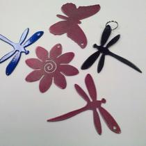 Dragonfly Keychain in Candy Pink Photo