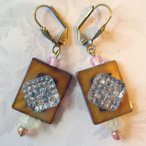 Earrings Art Deco Photo