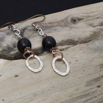Earrings/copper Silver Pewter Photo