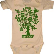 Ecology T-Shirt Onesie or Pillow for Baby Child Youth or Adult - You Choose Colors Photo