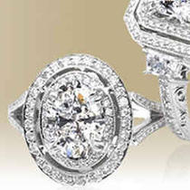Egl-Usa Certified Heart Shape Diamond Rings Photo