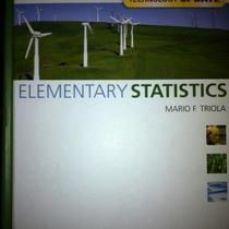 Elementary Statistics - Mario F. Triola Photo