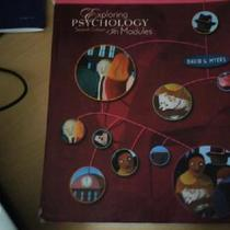 Exploring Psychology in modules 7th edition Photo