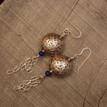 Fine Silver Drop Earrings Photo