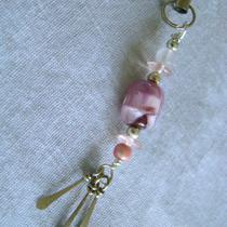Fob - Beaded Jewelry for Your Scissors Ipod or Cell Phone - Ooak Photo