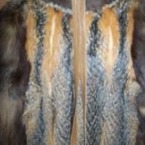 Fox Coat - Full Length Photo